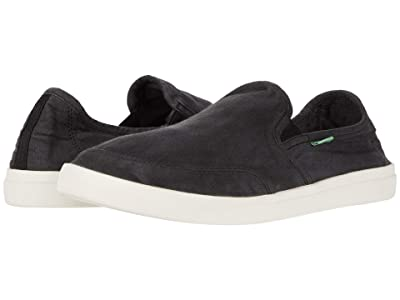 Sanuk Vagabond Slip-On Sneaker (Black 1) Men