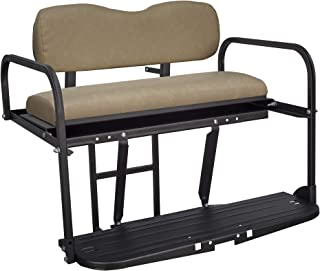 golf cart folding rear seat