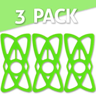 featured product Tackform Solutions Replacement Bike Phone Mount Rubber Tether Straps Phone Bands - [Green] 3-Pack - Premium Grade Rubber. Works with most Phones, Cases, and Bike Mounts on the market. By TACKFORM