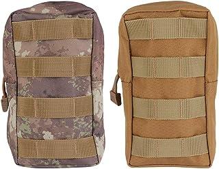 ABOOFAN 2pcs Outdoor Waist Bags Zipper Storage Portable Waist Hanging Bag for Camping Hiking