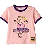 Dolce & Gabbana Kids - D&G Ballerina Piggie T-Shirt (Little Kids)