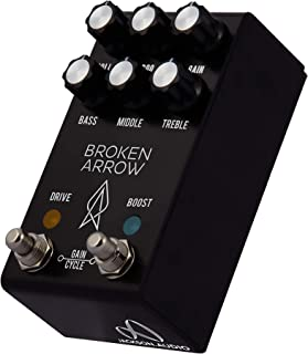 Jackson Audio Broken Arrow V2 Comprehensive Overdrive Guitar Effects Pedal, Black (BROKENARROWV2)