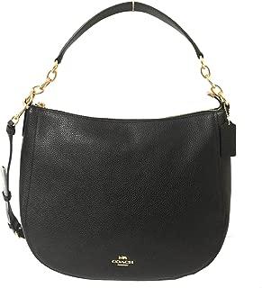 Pebble Leather Elle Hobo Shoulder Bag