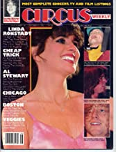 Circus Magazine LINDA RONSTADT Cheap Trick AL STEWART Prism SAMMY HAGAR Boston THE BEATLES October 31, 1978