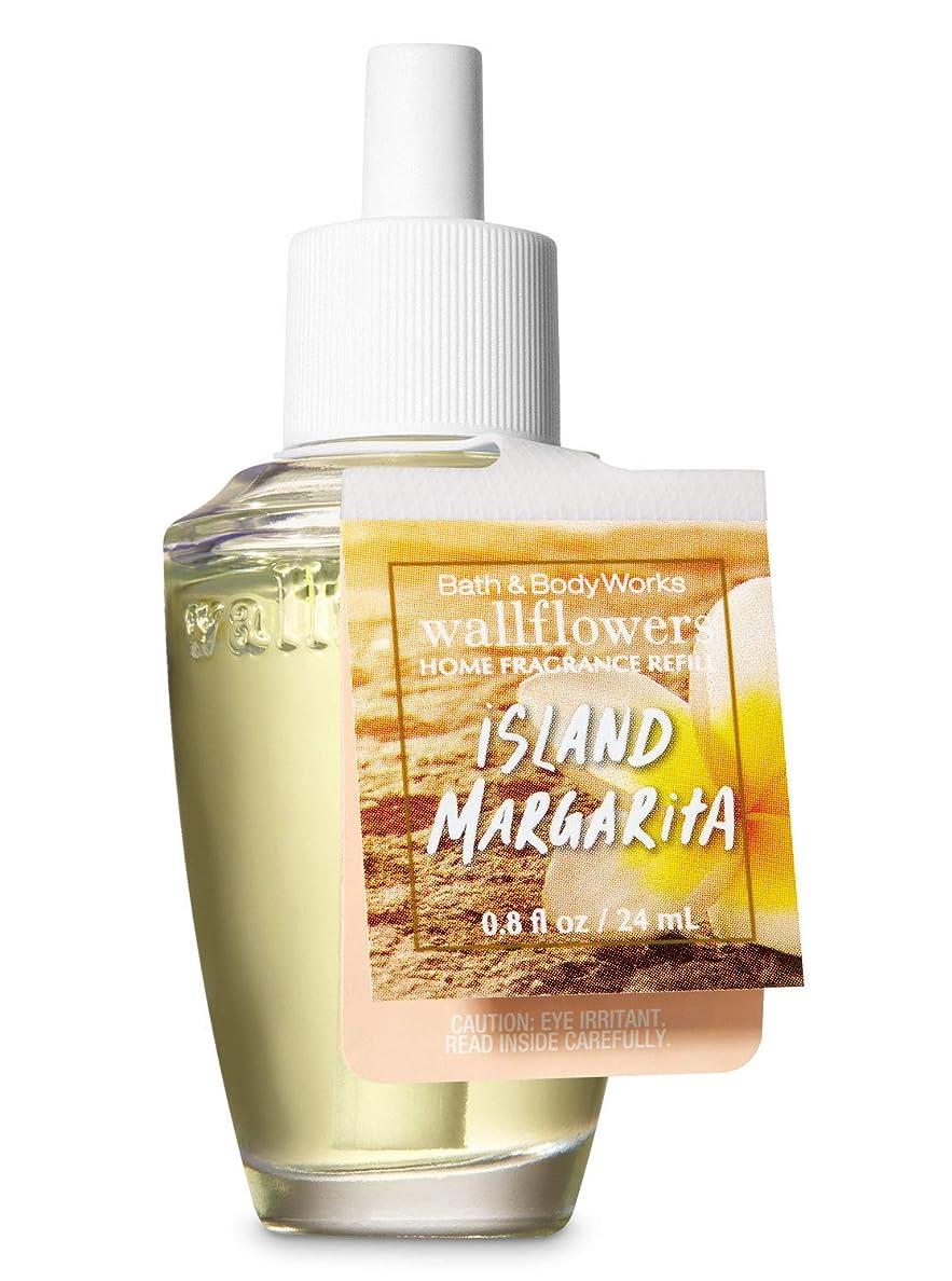 投げ捨てるスリット矛盾【Bath&Body Works/バス&ボディワークス】 ルームフレグランス 詰替えリフィル アイランドマルガリータ Wallflowers Home Fragrance Refill Island Margarita [並行輸入品]