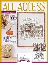 Anita Goodesign All Access VIP Club August 2019 Embroidery Design CD & Book