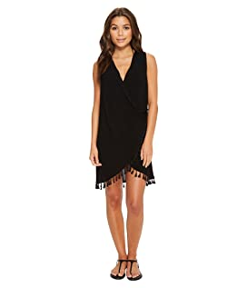 Bazaar Beauty Wrap Dress Cover-Up