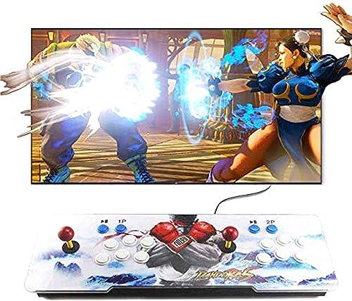 Jiayida Pandora Box - Console de Jeux vidéo Arcade, 3188 en 1 Jeux d'arcade rétro Games, 2 Stick Arcade, 1280x720 Ful...