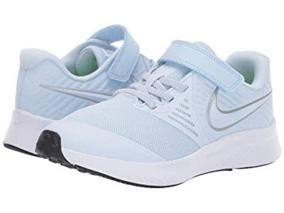 Nike Kids Star Runner 2 (Little Kid) (Half Blue) Girls Shoes
