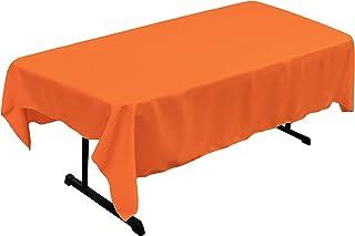 روتختی رومیزی مستطیل ، پلی استر پاپلین LA ، 60 84 84 ، نارنجی