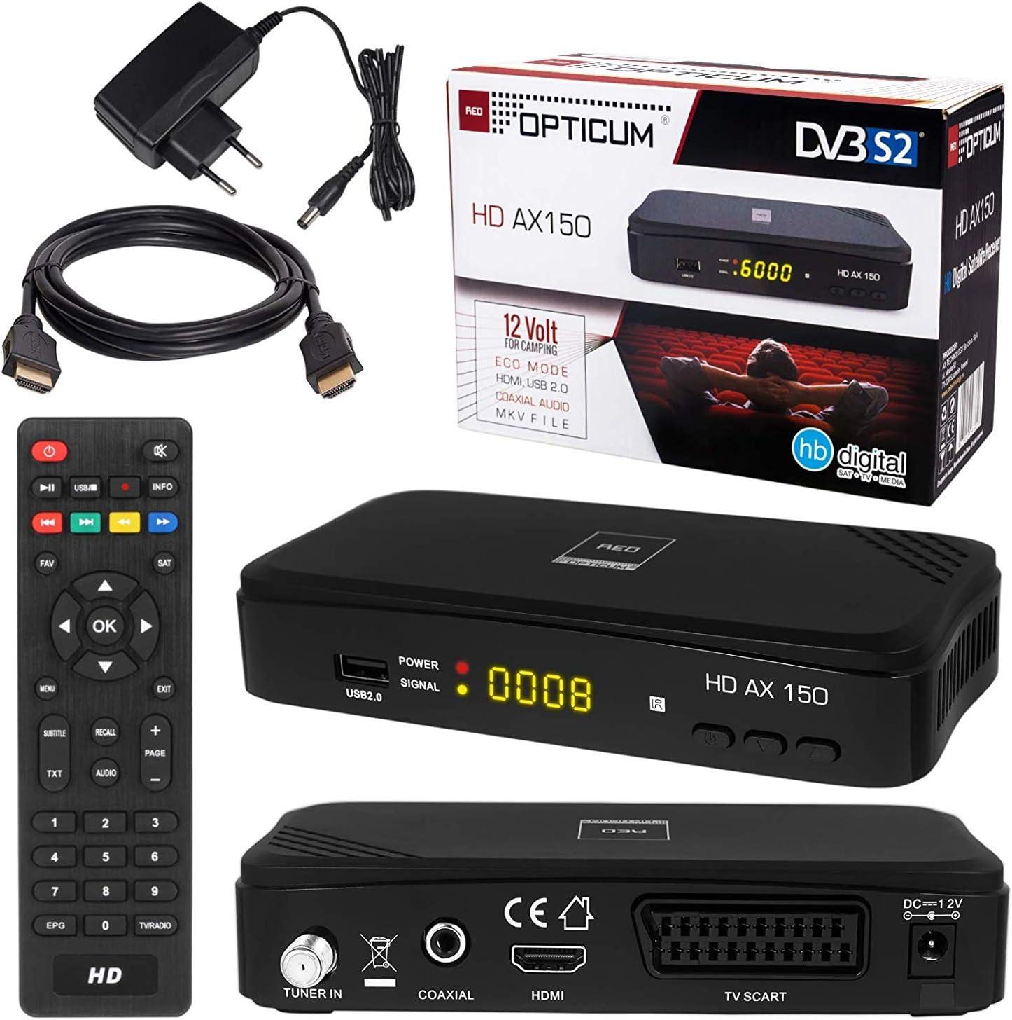 Receptor SAT y HDMI cable: Amazon.es: Electrónica