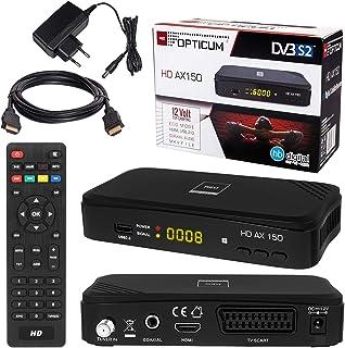 Receptor SAT y HDMI cable