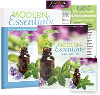 Modern Essentials Bundle 9th Ed: A Complete Guide to the Therapeutic Use of Essential Oils - Hardcover, Handbook, Introduction to Pamphlet, Reference Card, & Blend Comparisons