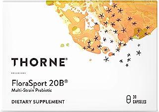 Thorne Research - FloraSport 20B Probiotic Supplement- 20 Billion Active Cultures per Capsule - NSF Certified for Sport -...