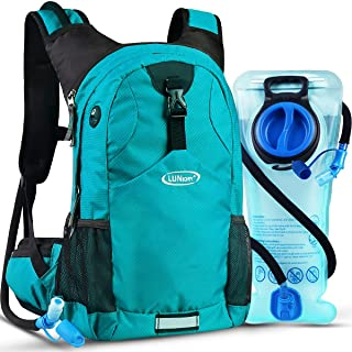 PUEEPDEE Cycling Backpack Water Resistant Hydration Backpack Lightweight Backpack Reflective Design Daypack with Thermal Insulation Perfect for Cycling,Biking,Hiking 5L Hydration Bag