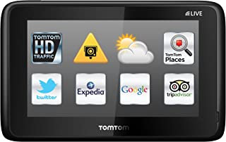 TomTom GO LIVE 1015 World (12,7cm (5 Zoll) Fluid Touch Display, HD Traffic, Google, Expedia, Bluetooth, Parkassistent, 66 Länderkarten)