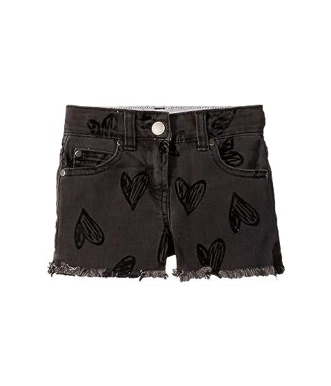 Stella McCartney Kids Marlyn Heart Shorts (Toddler/Little Kids/Big Kids)