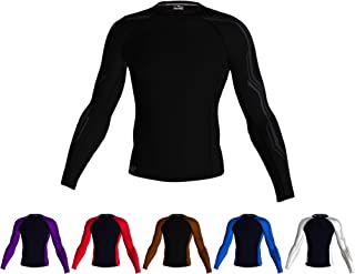 Pontoon Elite MMA, BJJ, Wrestling & Cross-Training Compression Ranked Rash Guard