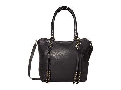 FRYE AND CO. Dallas Tote (Black) Tote Handbags
