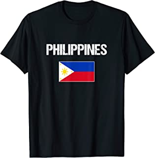 Philippines T-shirt Filipino Flag - For Men/Women/Youth/Kids