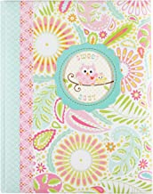 C.R. Gibson 'Sweet Baby' Pink Owl First Five Years Girl Memory Baby Book, 64pgs, 10'' W x 11.75'' H