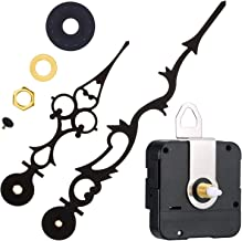 Mudder Quartz Clock Movement Mechanism with 170 mm/ 6.7 Inches Clock Hands for DIY Wall Clock (17/25 Inch/ 17 mm Shaft Length)
