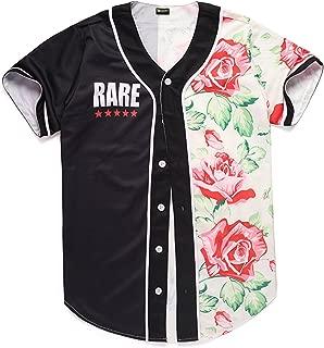 Unisex Arc Bottom 3D Print Baseball Team Jersey Shirt