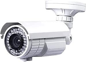 Urban Security Group 5-50mm Telephoto Lens Bullet Camera : 2MP 1080P 30FPS, Vari-Focal, Weather & Vandal-Proof : 72x IR LEDs 200ft Night Vision : Coax BNC HD-TVI, HD-CVI, AHD & Analog CVBS