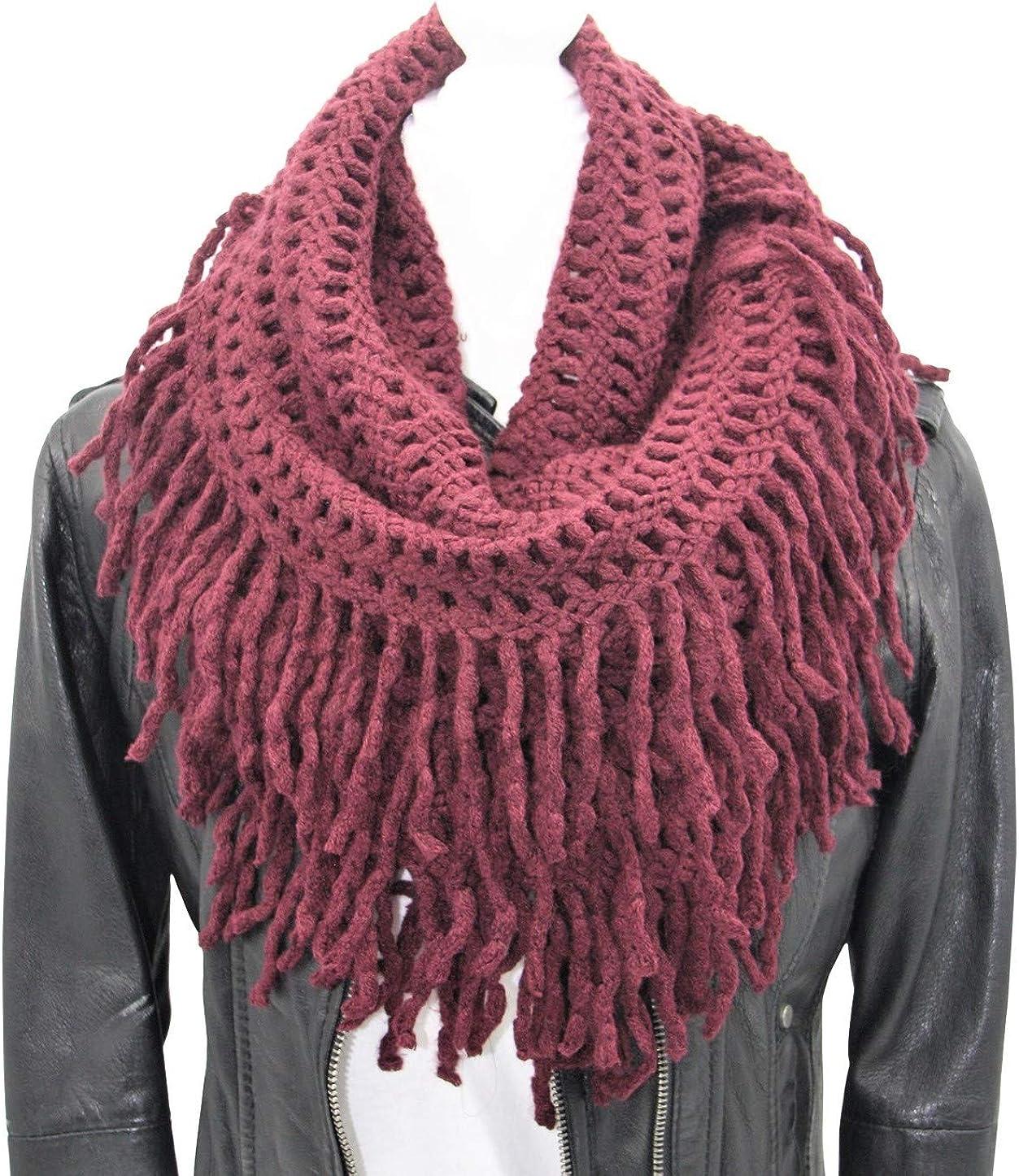 Infinity Fringe Scarf – 2021 new Fringed †Colorful Fashion Unisex