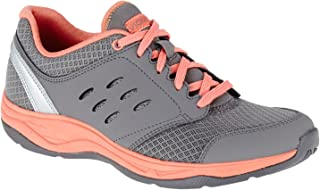 Vionic Women's Venture Active Lace-Up Dark Grey Oxford
