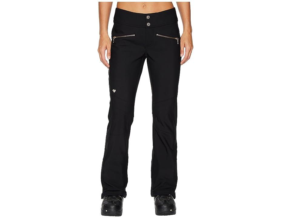 Obermeyer Clio Softshell Pants (Black) Women