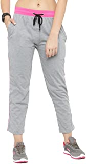 UZARUS Women's Straight Fit Trackpants