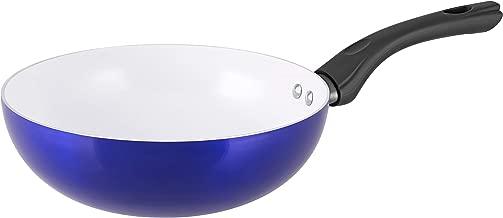 <セラストーン> Wok チタン・セラミックコーティングフライパン 24cm深型 IH対応 <正規品>
