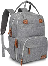 Diaper Bag Backpack, BabbleRoo Baby Nappy Changing Bags for Mom & Dad, Multifunction..