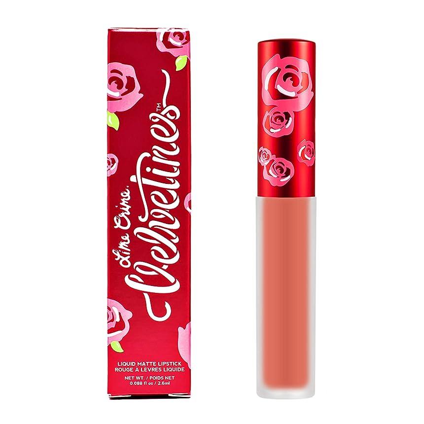 ビート比べる煙Lime Crime Velvetines Matte Liquid Lipstick - Desire 2.6ml