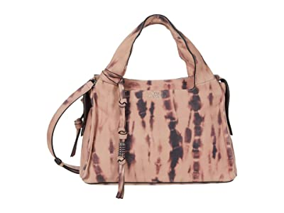 Vince Camuto Coey Satchel (Blush) Satchel Handbags