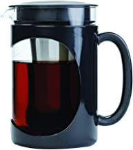 Primula Burke Deluxe Cold Brew Iced Coffee Maker, Comfort Grip Handle, Durable Glass Carafe, Removable Mesh Filter, Perfec...