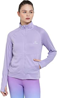 Alcis Purple Women's Track Jacket