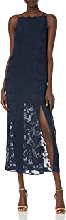 findersKEEPERS Women's Told You CrissCross Back Illsuion Maxi Dress