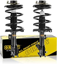 OREDY Front Pair 2Pieces Driver and Passenger Side Complete Struts Assembly Coil Springs Shock Struts 171426 171427 11592 11591 Compatible with Altima FWD 2002 2004 2005 2006