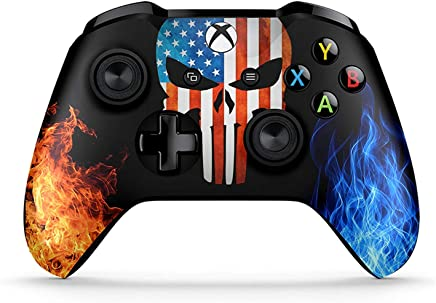 Customized Design with Anti-Slip Soft Grip Dreamcontroller Xbox One Non-Modded Controller Non Modded, USA Eagle Bluetooth for Windows 10 PC Great for Gaming Competitions and Tournaments