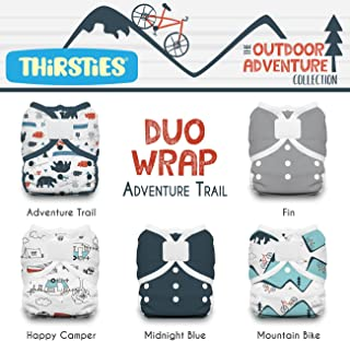 Thirsties Package, Duo Wrap Hook & Loop, Outdoor Adventure Collection Adventure Trail Size 1