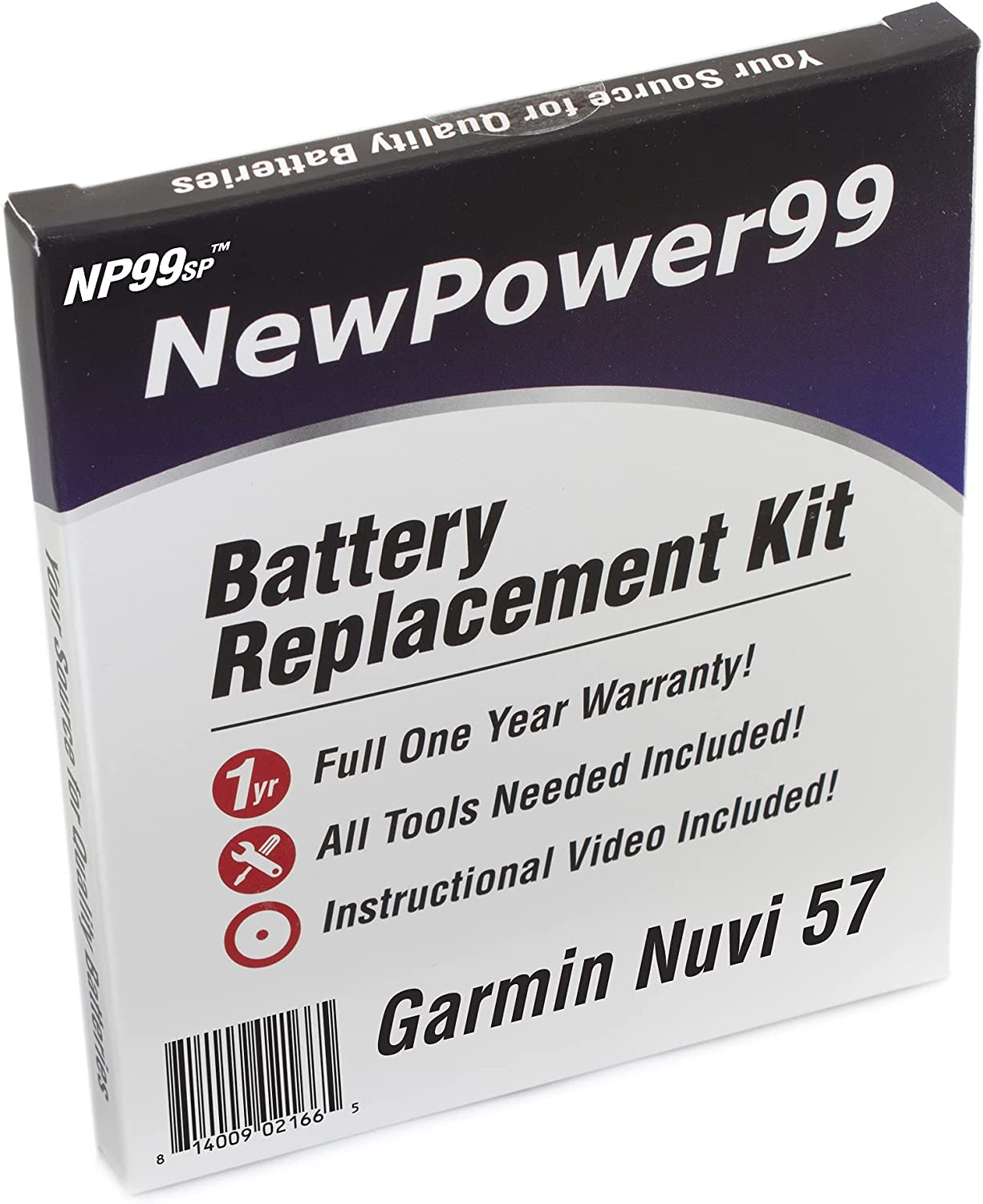 Battery OFFicial store Replacement Kit for Garmin Nuvi 57 Vid All items free shipping with 57LM 57LMT