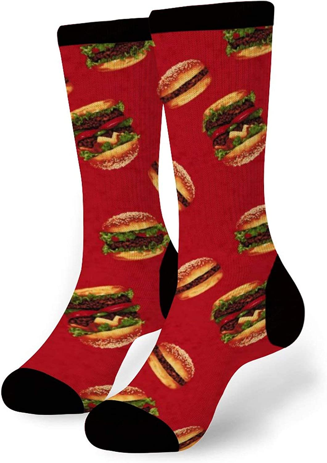 Men's Turkey Face Funny Thanksgiving Dress Socks Gift Idea | One Size Fits Most