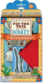 eeBoo Pin The Tail on The Donkey Party Game