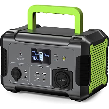 PAXCESS 288Wh Portable Power Station Rockman 300, 110V/300W Solar Generator With AC Outlet 3 USB, 78000mAh Backup Lithium Battery Pack For Outdoors Camping RV Travel Home