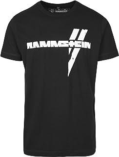 Rammstein Weiße Balken tee Camiseta Hombre