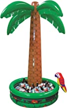 Amscan Jumbo Inflatable Palm Tree Party Cooler, 6' x 4'