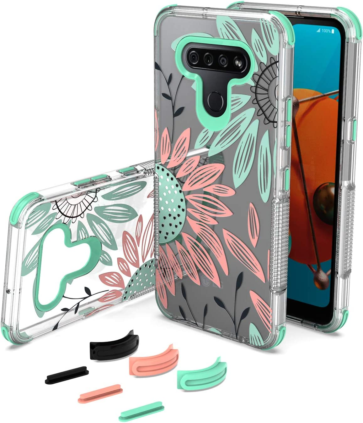 UNC Pro Cell Phone Case for LG Reflect Popular brand in the world K51 shop Q51 Replaceabl