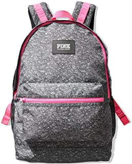Victorias Secret PINK Campus Backpack 2019 Edition (Dark Grey Marl With Flawless)